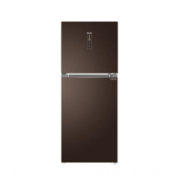 haier refrigerator brown